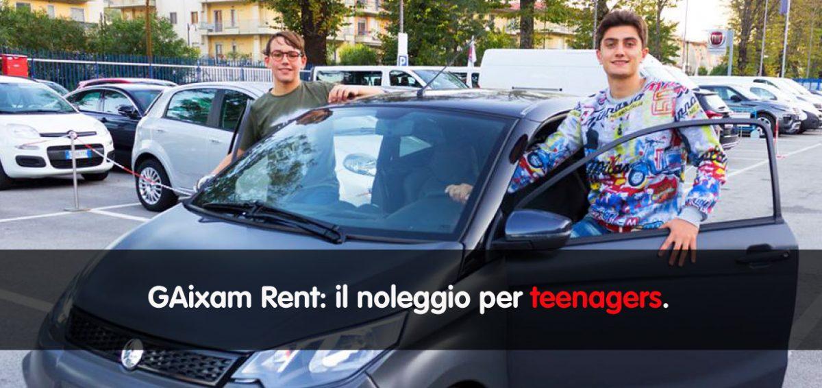 Galdieri Rent e Aixam insieme per un nuovo progetto: il noleggio per teen-agers.